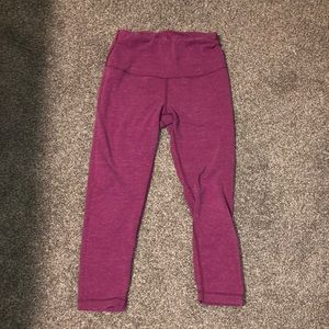 Pants - 90 degree pink workout Capri leggings